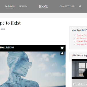 Screenshot ICON - FASHION FASHIONBLOG1